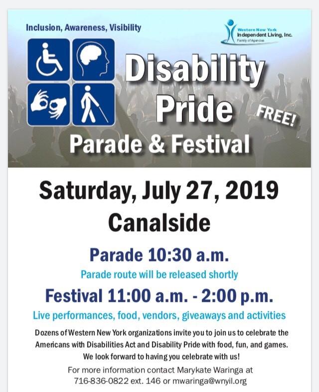 Disability Pride Parade & Festival