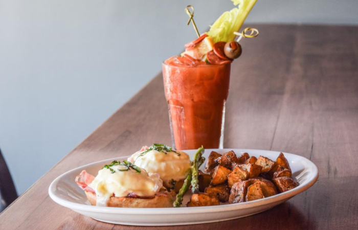 Giacobbi's Build-Your-Own-Bloody Mary Bar is What Dreams Are Made Of