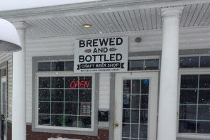 Brewed and Bottled Craft Beer Shop