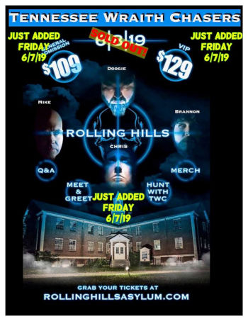 Wraith Chasers Return To Rolling Hills Asylum