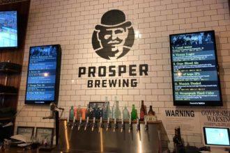 prosper brewing
