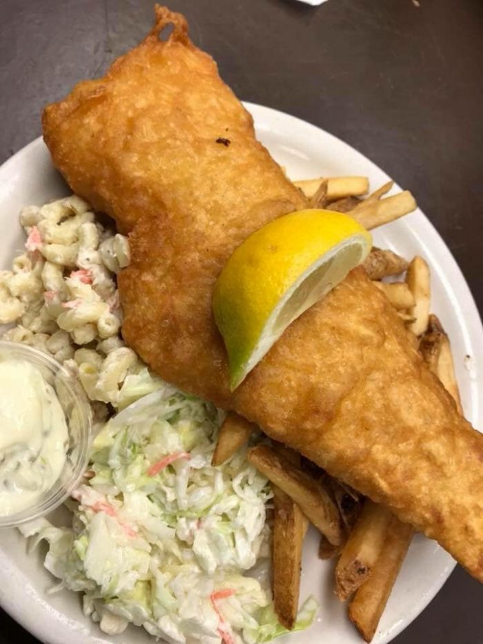 Fish Fry at Curry's