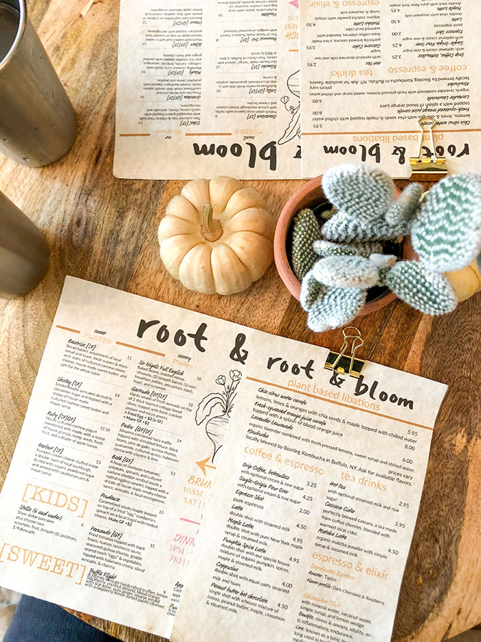 Root and Bloom Brunch
