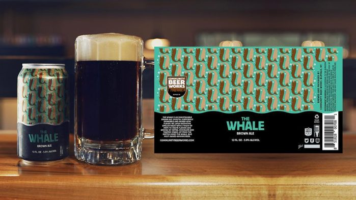 The Whale Brown Ale by Community Beer Works / Photo courtesy of Community Beer Works