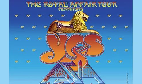 A Royal Affair YES, Asia, John Lodge and Carl Palmer
