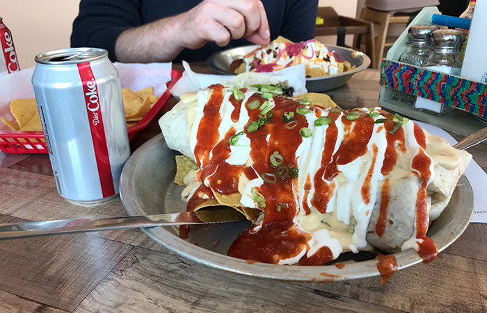 Where to Get Giant Burritos in WNY