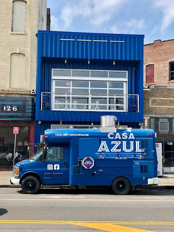 casa azul food truck