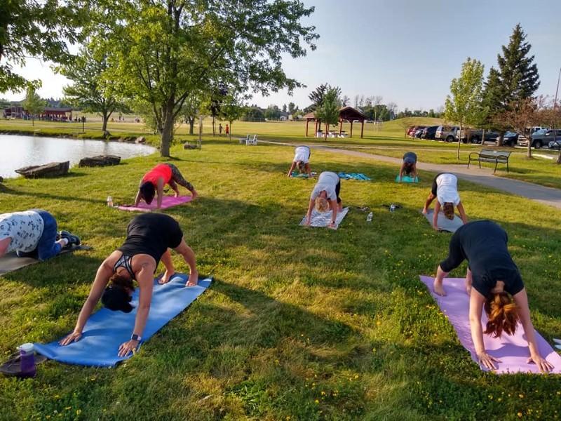 Free Yoga in Fairmount Park
