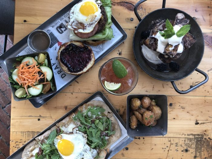 The Draft Room Puts On a Classic Brunch With the Support of Bakery 55