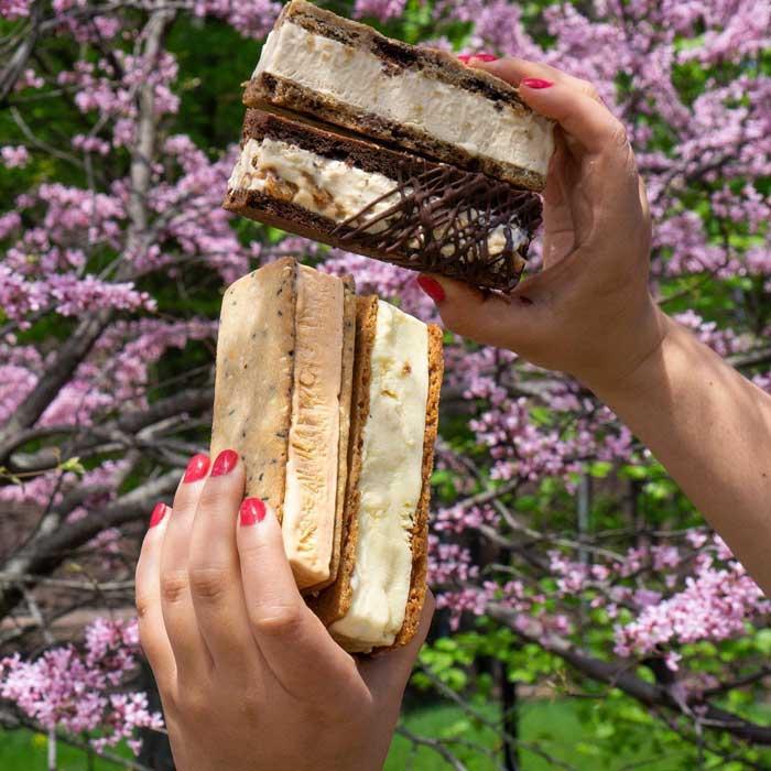 100 Acres ice cream sandwiches