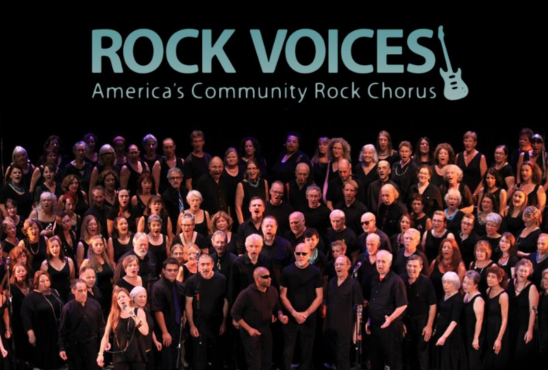 Rock Voices Buffalo!  No-Audition Choir!  Sing With a Rock Band!