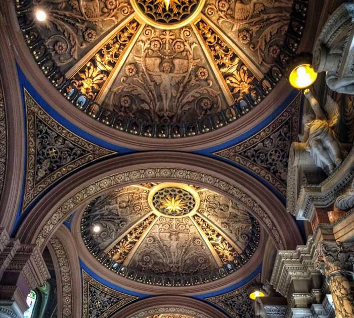 Our Lady of Victory Basilica Ceiling is one of the beautiful ceilings in Buffalo
