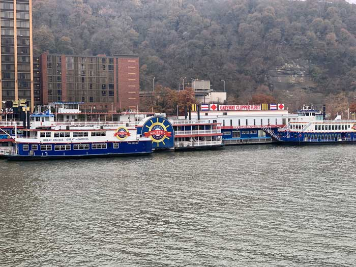 Gateway Clipper Sightseeing Cruise- Pittsburgh Road Trip