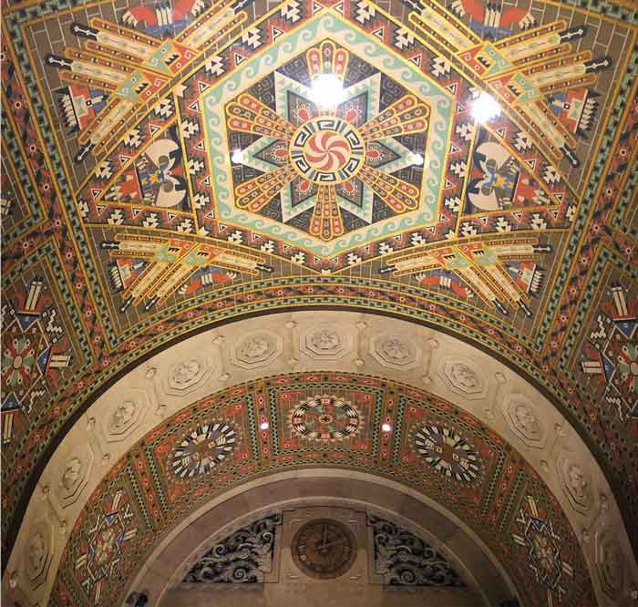 Buffalo City Hall Ceiling is one of the beautiful ceilings in Buffalo