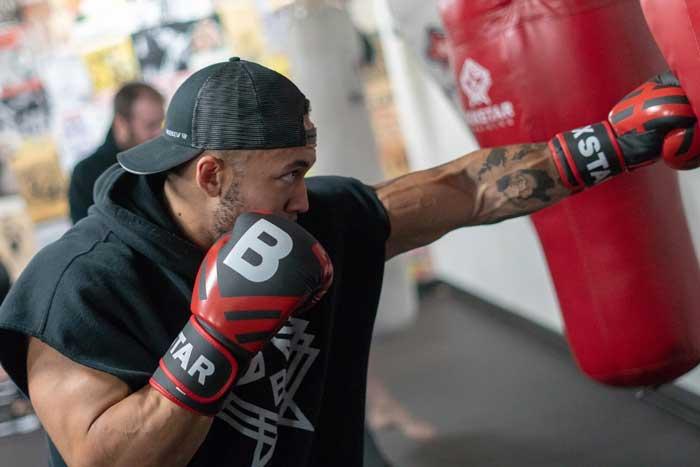 Boxing at Boxstar Training