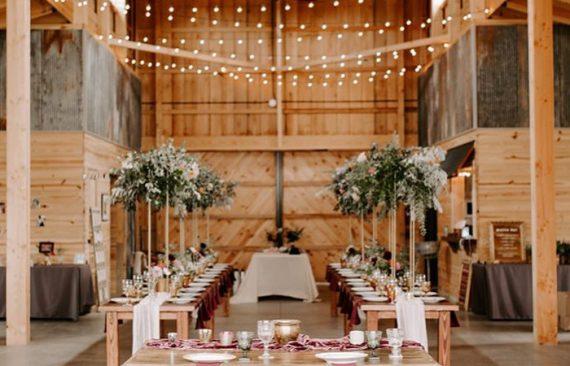 Kin Loch Farmstead wedding venue