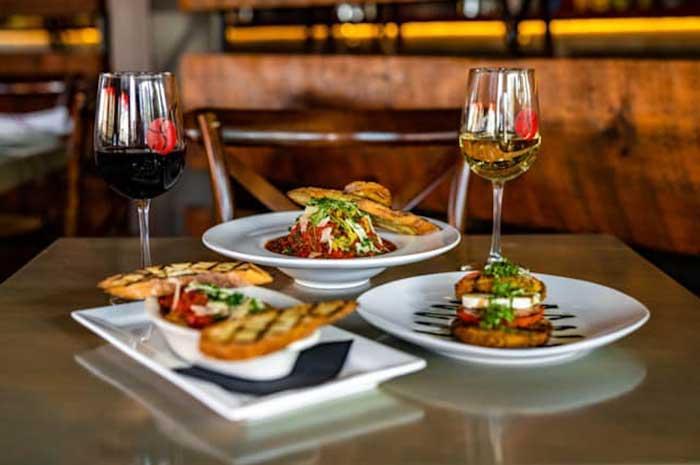 wine bars: share kitchen