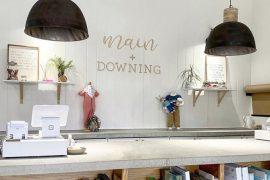 main and downing