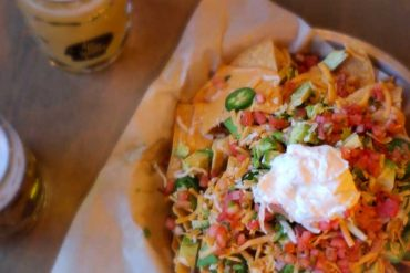 nachos: Thin Man Brewery