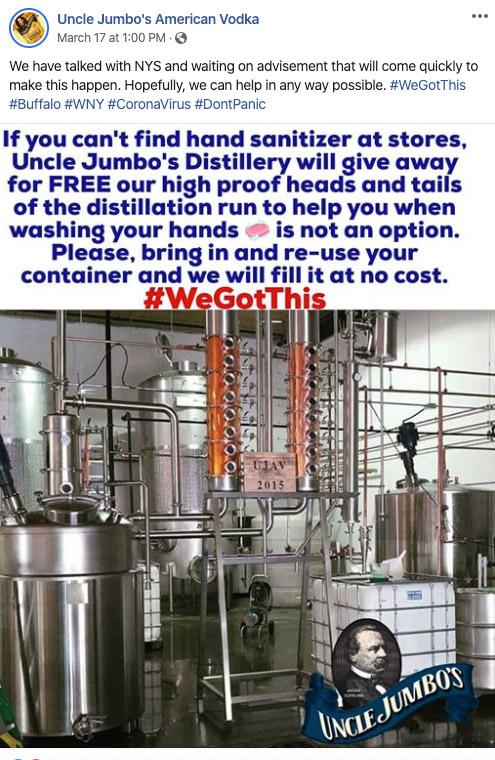 Uncle Jumbo's American Vodka