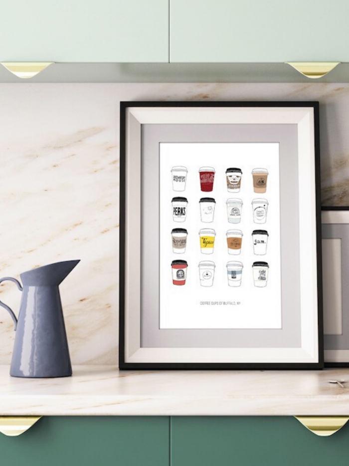 Coffee Cups of Buffalo Print x Sarah Hofheins (@sarahthehof)