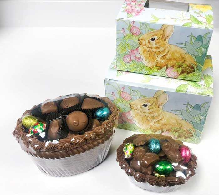 Easter basket: Antoinette's