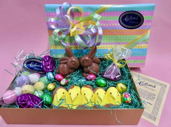 Easter basket: Alethea's