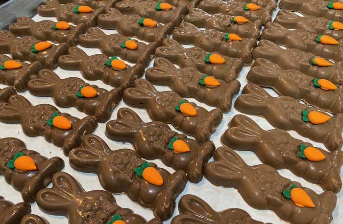 Easter basket: Sweet Jenny's