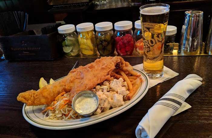 fish fry: Nye Park Tavern