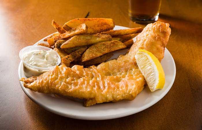 fish fry: Panes restaurant