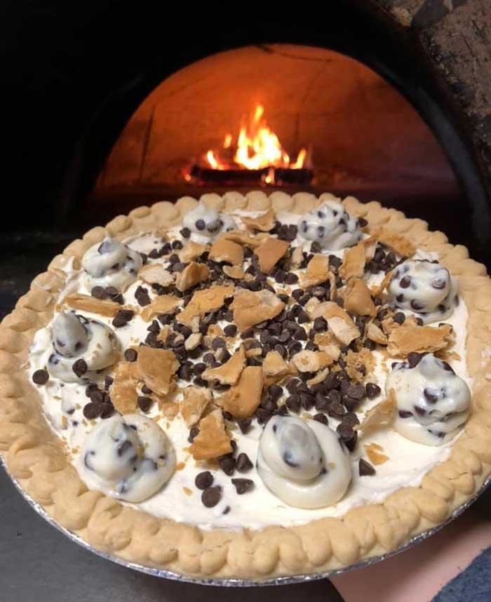 dessert pizza: Pizza Amore