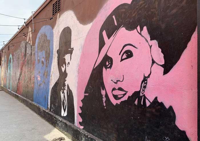 street art: Ray's Way