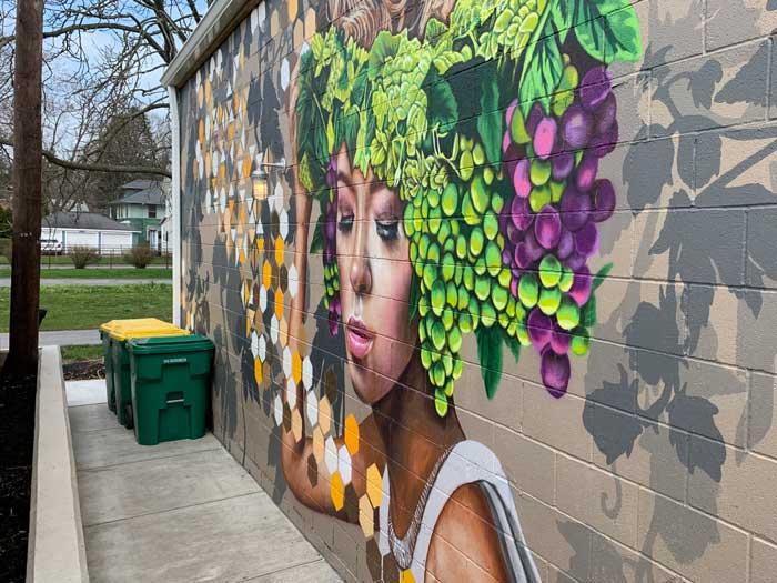 street art: Alchemy mural