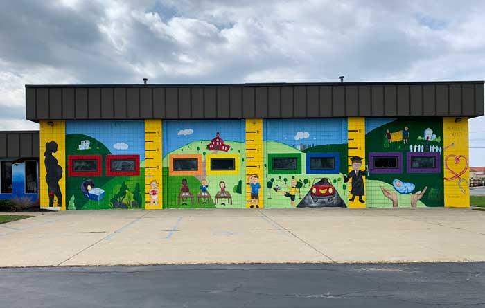 street art: Big Tree Pediatrics
