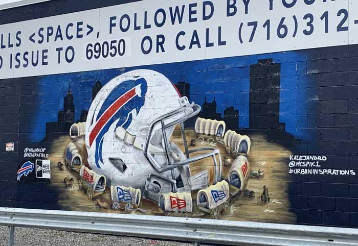 street art: Circle the Wagons