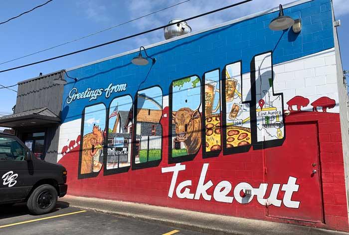 street art: Bar Bill