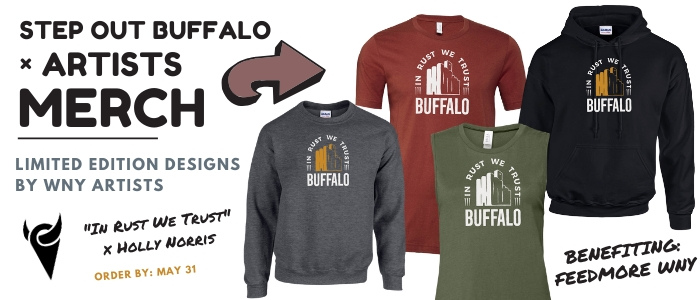 Step Out Buffalo x Artists Merch