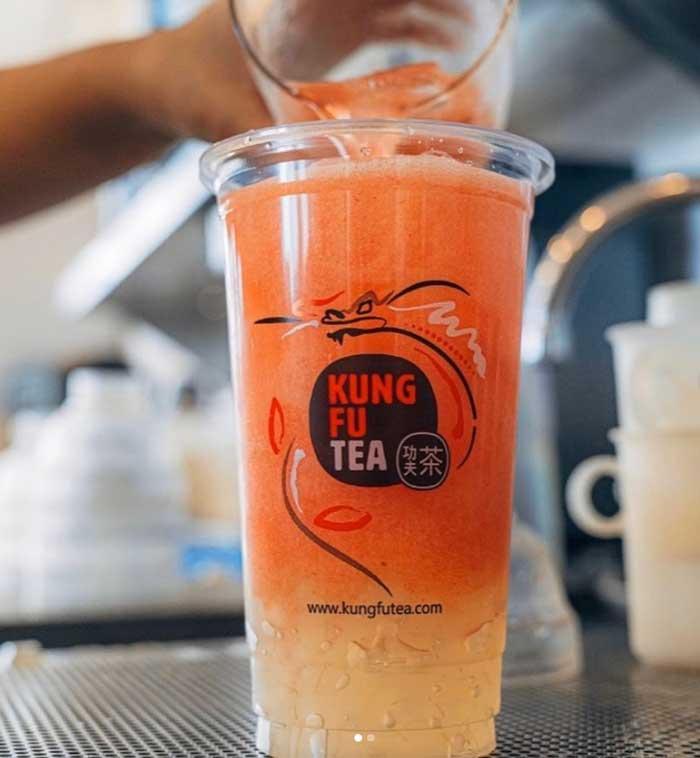 bubble teas: Kung Fu Tea