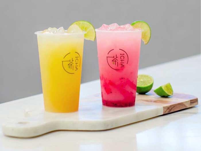 bubble tea: ICHA Cafe