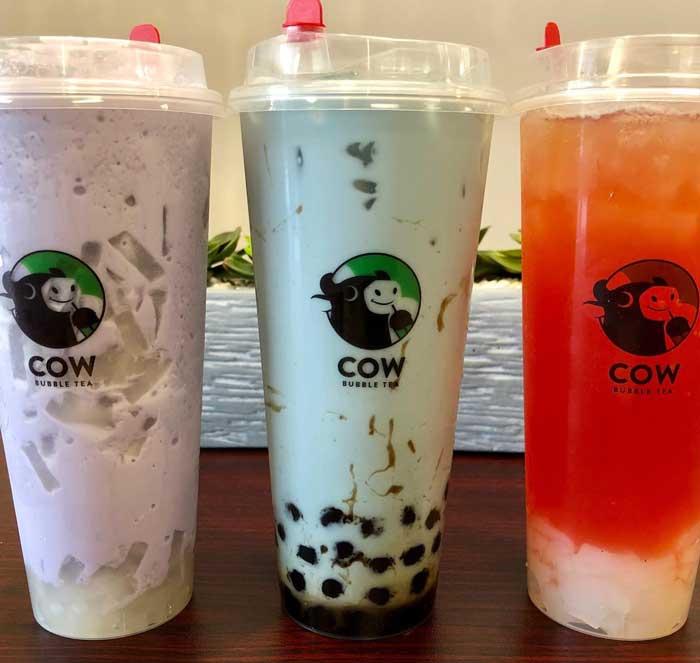 bubble tea: Cow Bubble Tea