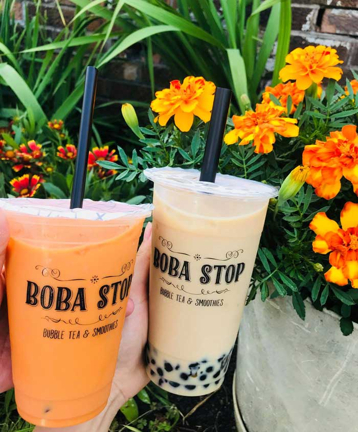 bubble tea: BOBA STOP