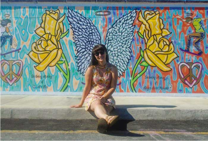 Alix Rice Peace Park Mural