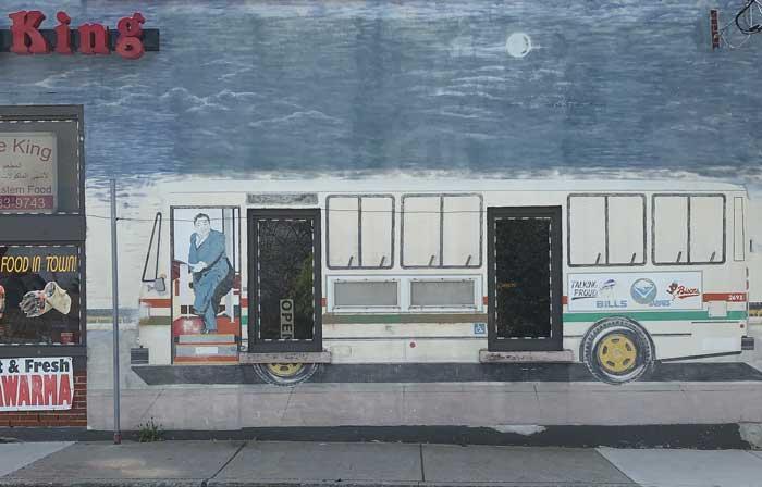 Buffalo Sports food Bus south buffalo mural