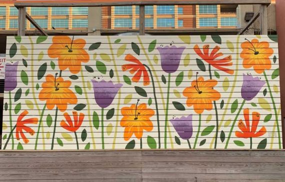 flowers south buffalo mural