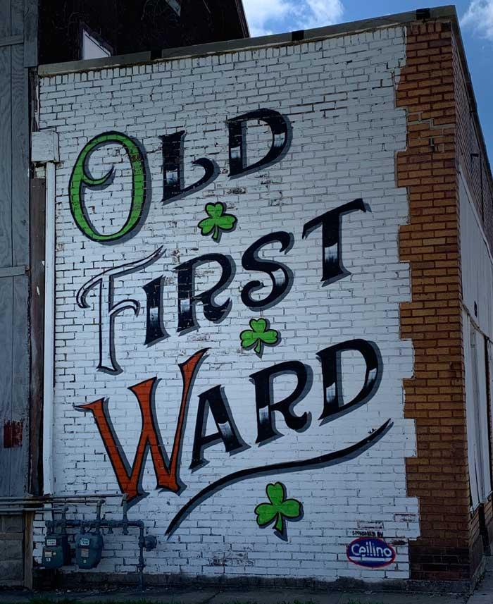 Old first ward south buffalo mural