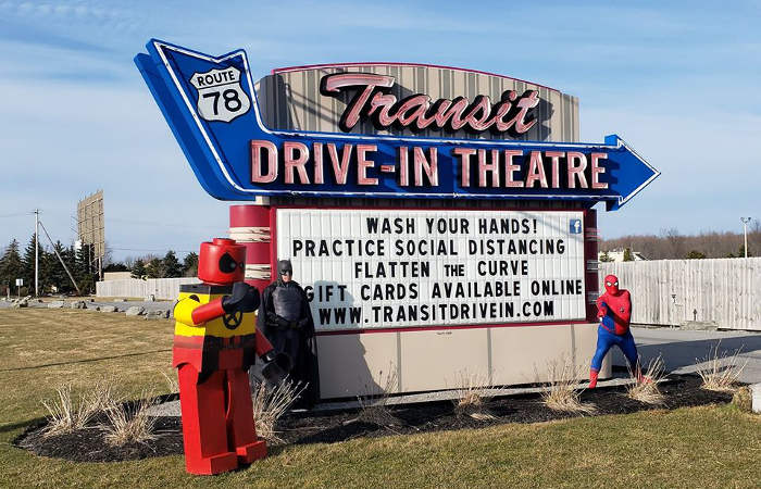 Transit Drive-In is Officially Open Every Night Starting May 15