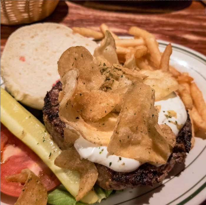 craziest burgers: Buffalo BrewPub