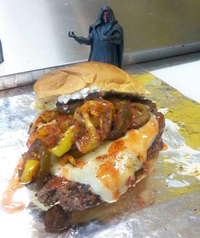 craziest burgers: Stack Burger