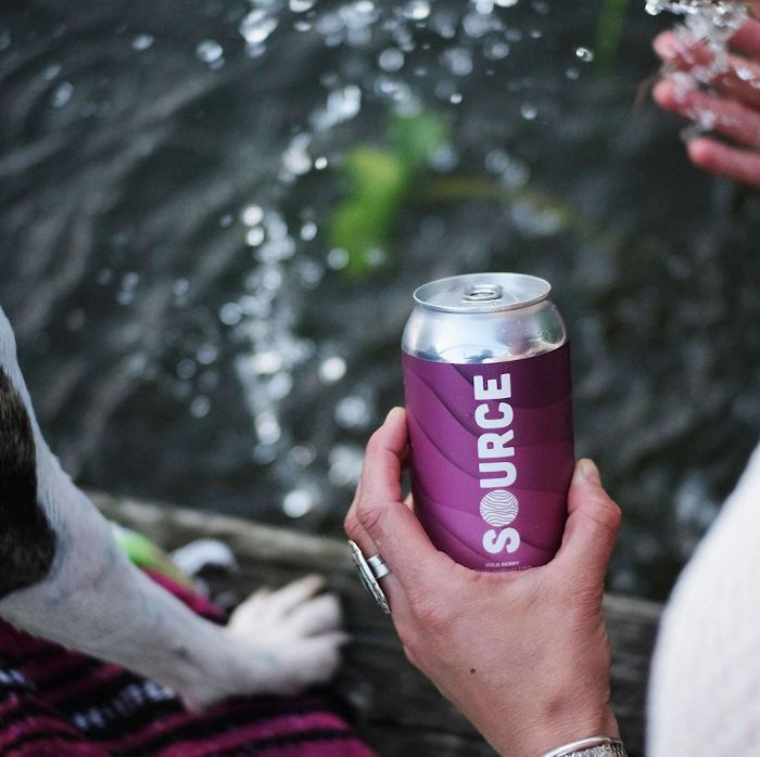 Source Hard Seltzer / Photo courtesy of 42 North Brewing Co.