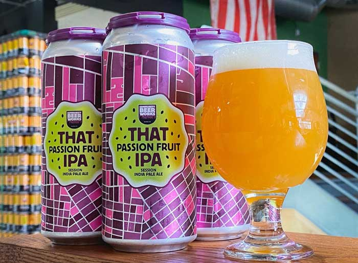 summer beer: that passion fruit IPA